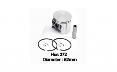 Piston complet Husqvarna 272 (52mm) -