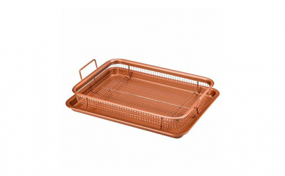 Tava de gatit, otel inoxidatil, Copper