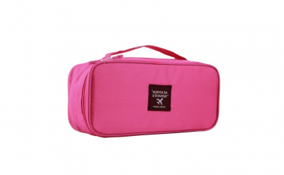 Geanta roz pentru organizare, Vivo