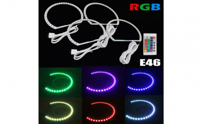 Kit Angel Eyes LED SMD BMW E36 RGB
