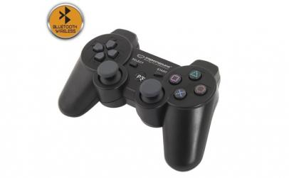Gamepad Bluetooth, PS3, 12 butoane,