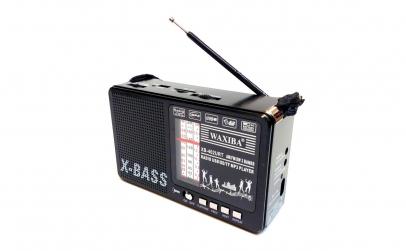 Radio X-BASS 402 cu lanterna, mp3, 3 ben