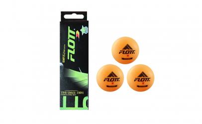 Set 3 mingi de ping pong FLOTT®
