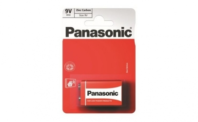 Baterie Panasonic Red Zinc 9V 6F22Rz