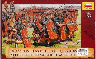 1:72 Roman Imperial Infantry (I.BC -