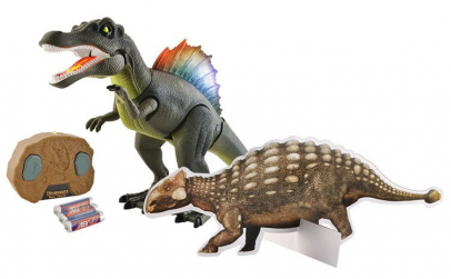 Robot dinozaur cu Telecomanda, Sunete si