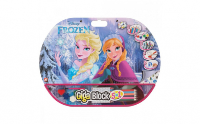 Set desen si pictura 5 in 1 Frozen  35