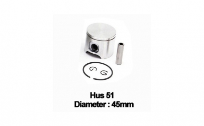 Piston complet Husqvarna 51 (45mm) -