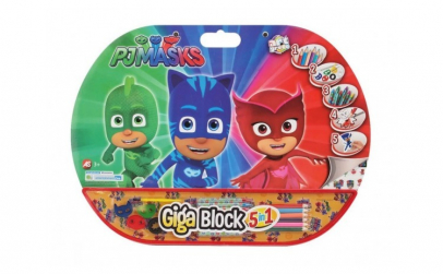 Set desen si pictura 5 in 1 Pj Masks