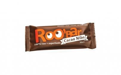 Baton raw bio cu miez de cacao si