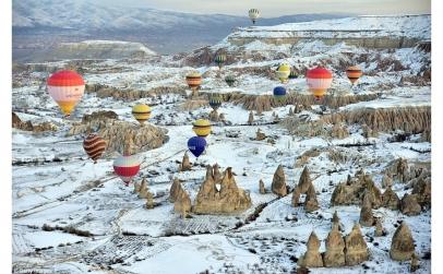 Revelion Turcia Cappadocia