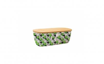 Cutie pentru paine, din fibre de bambus