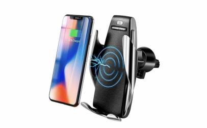 Suport auto cu incarcator wireless