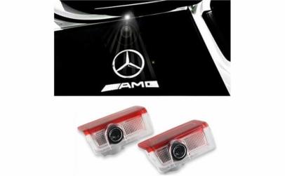 Holograma auto pentru usa - Mercedes