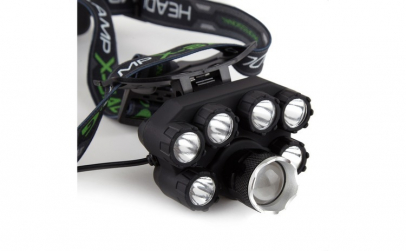 Lanterna De Cap Premium Cu 7 Led XT6