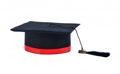 Toca absolvire cu bentita diverse culori