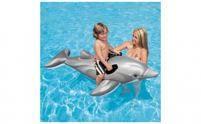 Saltea gonflabila, forma delfin