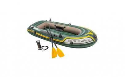 Barca gonflabila Intex Seahawk 2, vasle