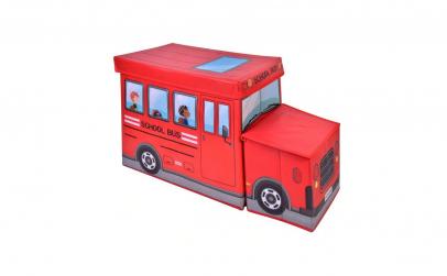 Cutie pentru depozitare cu capac autobuz