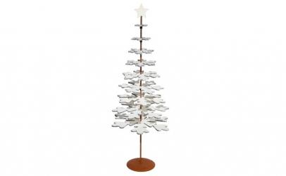 Brad decorativ din lemn cu suport