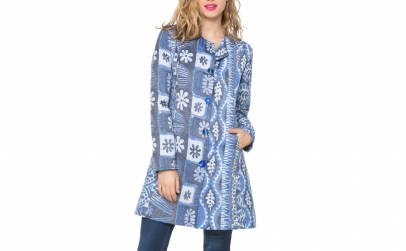 Palton Desigual Magic Blue