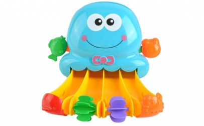 Jucarie de baie pentru copii, Caracatita
