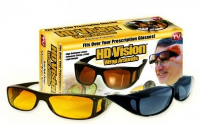 Set 2 ochelari HD Vision zi si noapte