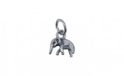 Pandantiv Argint 925 Elefant Mic ,