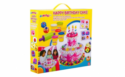 Tort Happy Birthday cu plastilina