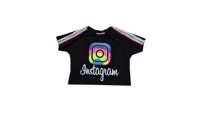Tricou scurt Instagram
