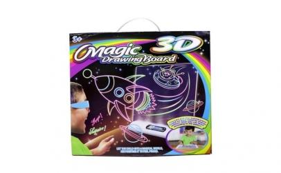 Tabla magica de desenat cu desene 3D