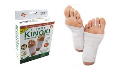 2 x KINOKI- plasturi detoxifiere