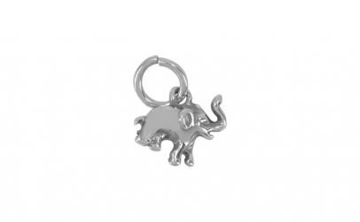 Pandantiv Elefant, Argint 925 + Snur