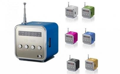 Mini boxa portabila cu radio fm si mp3