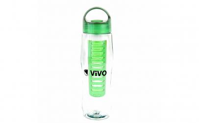 Sticla cu filtru pentru infuzii, verde