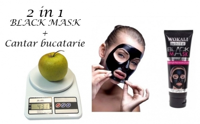Masca Neagra + Cantar bucatarie