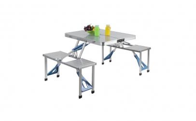 Masa pliabila pentru picnic din aluminiu
