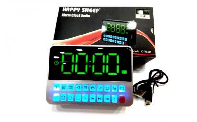 Radio Ceas Digital cu Alarma Happy Sheep