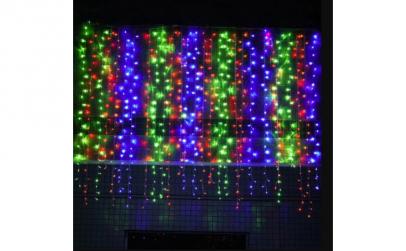 Instalatie LED Perdea Ploaie 3x2.5m