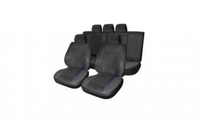 Huse scaune auto BMW E90/E91  Lux Negru