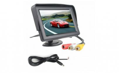 Monitor auto + sistem de parcare 2 in 1
