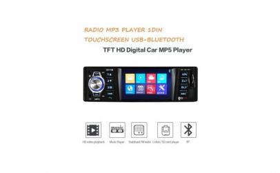 Radio Mp3 player Auto 1DIN Bluetooth Avi