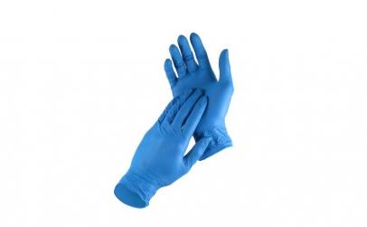 Manusi din nitril,culaorea albastru,M