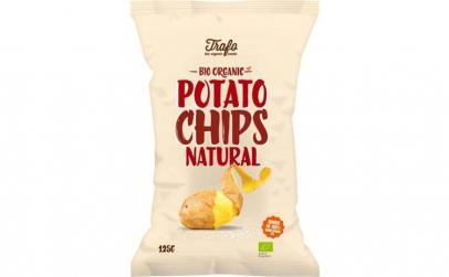 TRAFO - Chipsuri BIO natur, 125 g