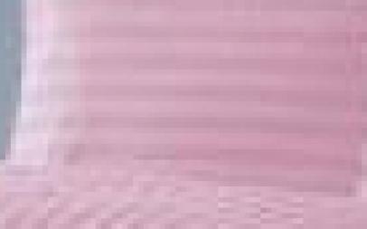 Lenjerie de pat damasc  culoare roz