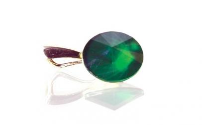 Pandantiv Rivoli, Verde, Argint 925,