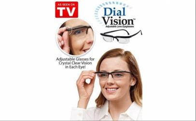 Ochelari cu dioptrie ajustabila