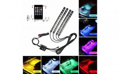Kit interior LED 12 SMD RGB