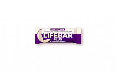 Lifebar Plus baton cu afine si quinoa