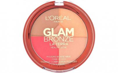 Paleta L Oreal Glam Bronze La Terra